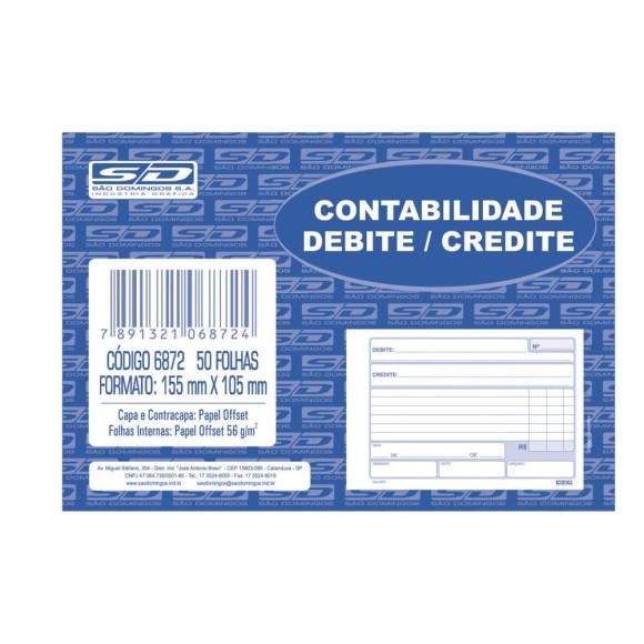 BL. CONTABILIDADE DEBITE / CREDITE SAO DOMINGOS