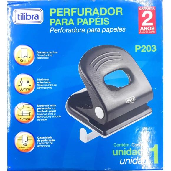 PERFURADOR 40FLS 2F P203 TILIBRA