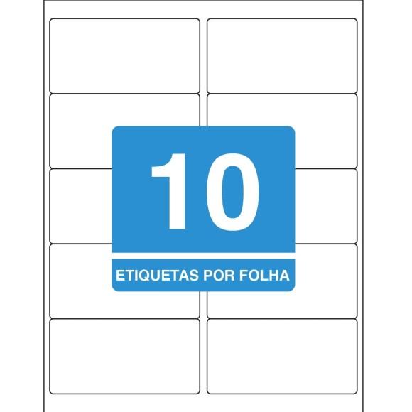 ETIQUETA 50,8 x 101,6 CT TB6183 100FLS 1000 ETIQS. 10 P/FOLHA TILIBRA
