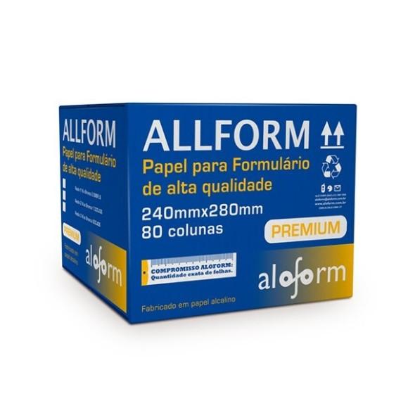 FORMULARIO 80 COLUNAS C/1 VIA C/2500 FLS ALOFORM
