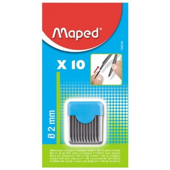 GRAFITE 2.0 C/10 COMPASSO MAPED