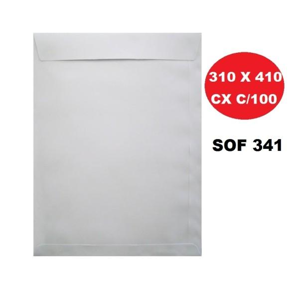 ENVELOPE SACO 310X410 BRANCO CAIXA C/100 SCRITY