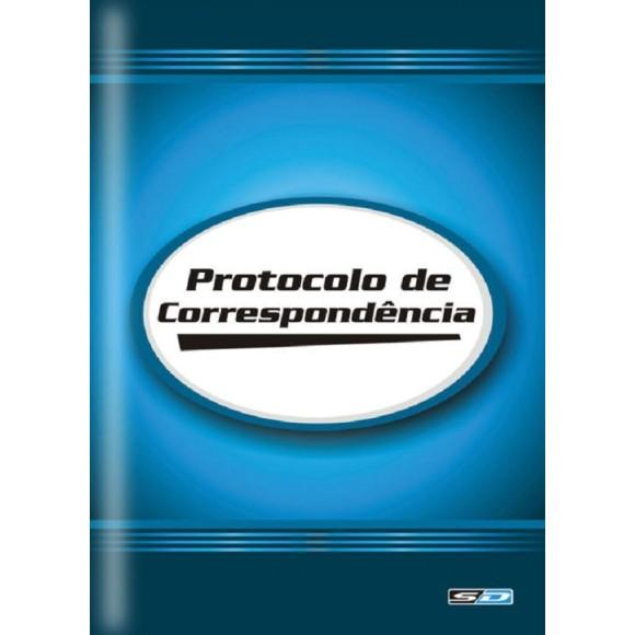 LIVRO PROTOCOLO DE CORRESPONDENCIA C/104 FOLHAS SAO DOMINGOS