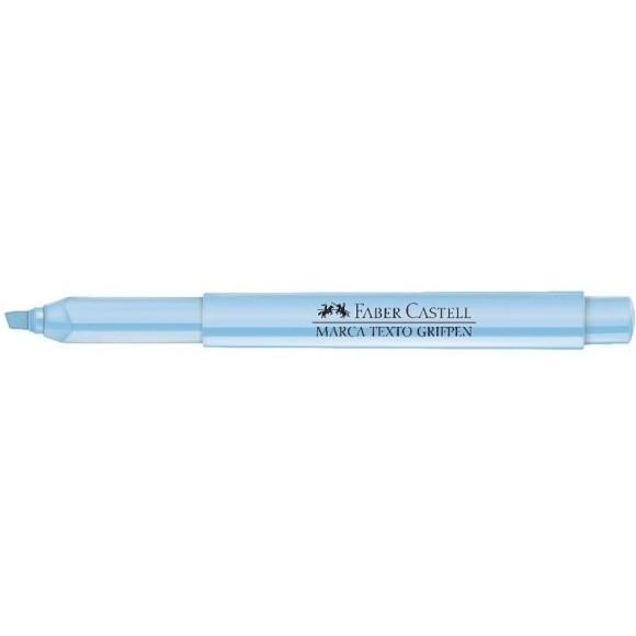 MARCA TEXTO PASTEL AZUL GRIFPEN FABER CASTELL