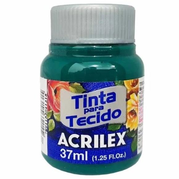 TINTA TECIDO 37ML VERDE BANDEIRA ACRILEX