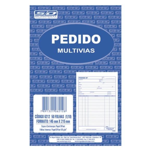 BL. PEDIDO MEDIO 1 VIA 50FLS SAO DOMINGOS