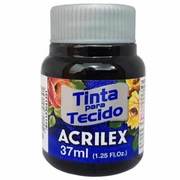 TINTA TECIDO 37ML PRETO ACRILEX