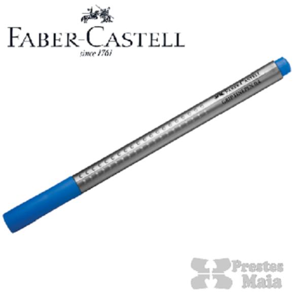 CANETA HIDROGRAFICA 0.4MM AZUL GRIP FINE PEN FABER CASTELL
