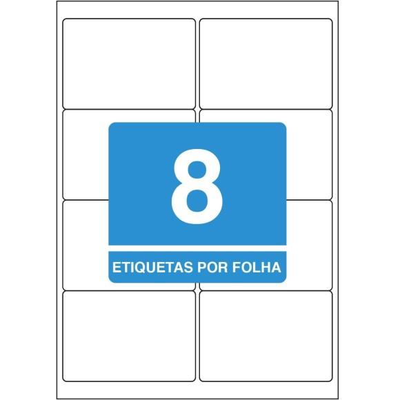 ETIQUETA 99,1X67,7 A4 TBA4365 100FLS 800 ETIQS. 8 P/FOLHA TILIBRA