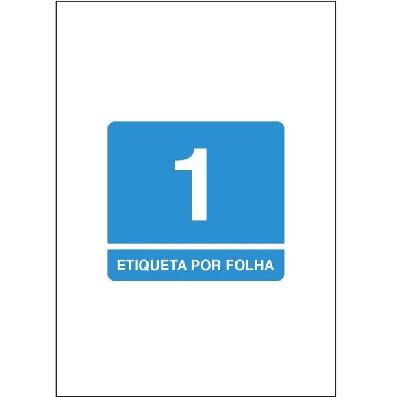 ETIQUETA 21,0X29,7 A4 TBA4367 100FLS 100 ETIQS. 1 P/FOLHA TILIBRA
