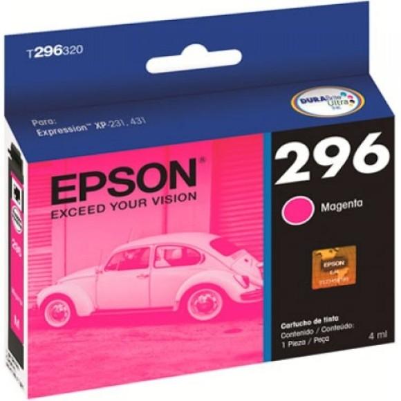 CARTUCHO EPSON T296320BR MAGENTA ORIGINAL