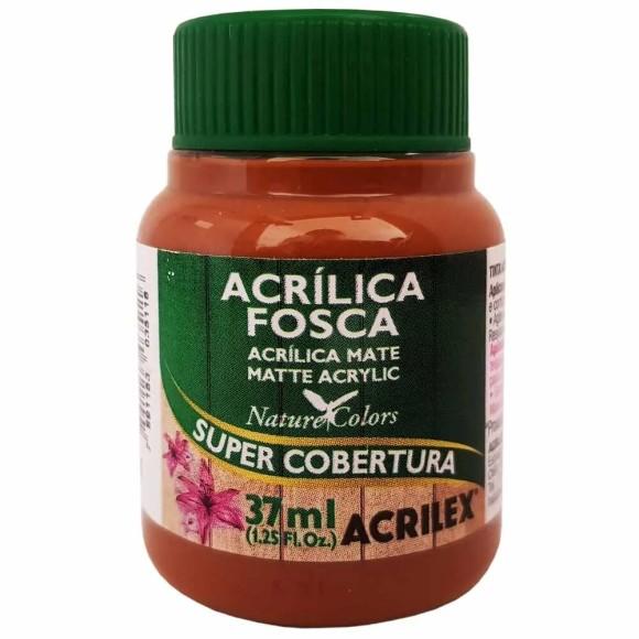 TINTA ACRILICA FOSCA 37ML MARROM ESCURO ACRILEX