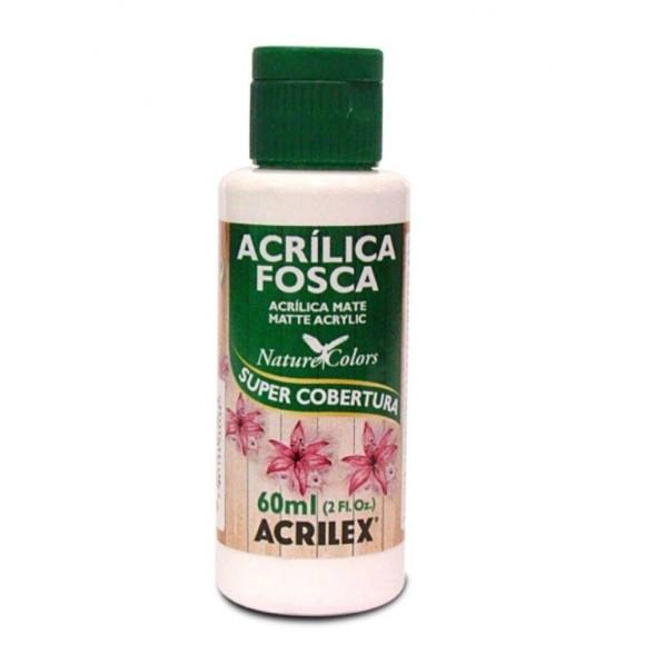 TINTA ACRILICA FOSCA 60ML BRANCA ACRILEX