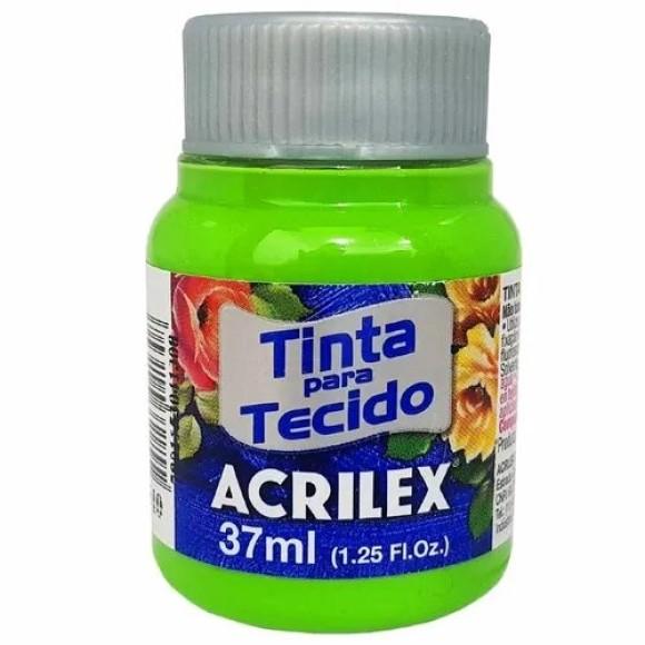 TINTA TECIDO 37ML VERDE FOLHA ACRILEX