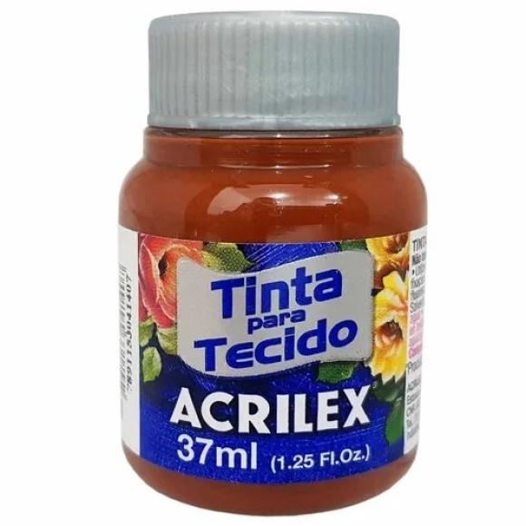 TINTA TECIDO 37ML MARROM ACRILEX