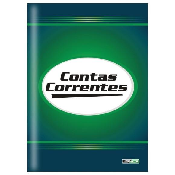 LIVRO CONTA CORRENTE 1/4 C/50 FOLHAS SAO DOMINGOS