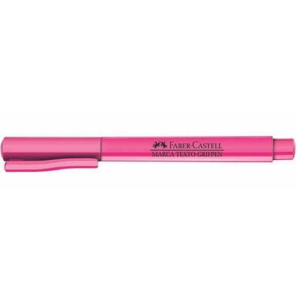 MARCA TEXTO ROSA GRIFPEN FABER CASTELL