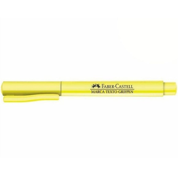 MARCA TEXTO PASTEL AMARELO GRIFPEN FABER CASTELL