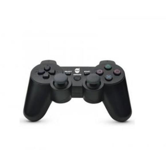 CONTROLE DUAL SHOCK PS2 PRETO COM FIO DAZZ