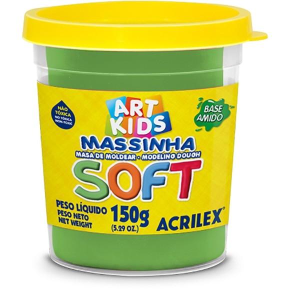 MASSINHA BASE AMIDO SOFT 150GR VERDE ACRILEX