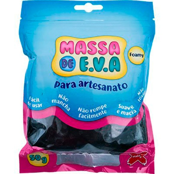 MASSINHA EVA P/SLIME 50GR MAKE+