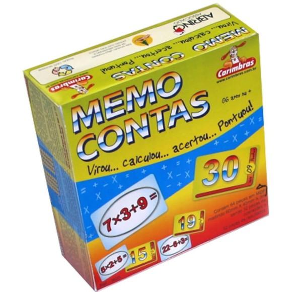 JOGO MEMO CONTAS CARIMBRAS